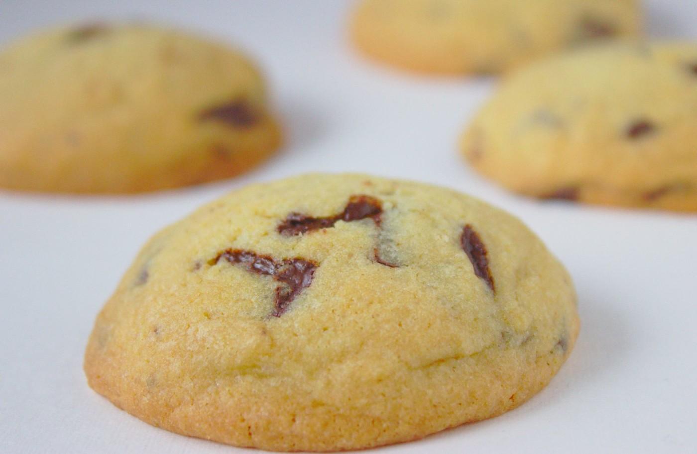 Maślane ciasteczka z czekoladą