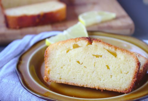 Ciasto cytrynowe na masle