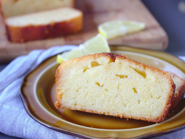 Ciasto cytrynowe na maśle