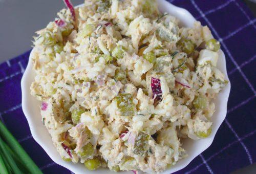 Salatka z tunczykiem