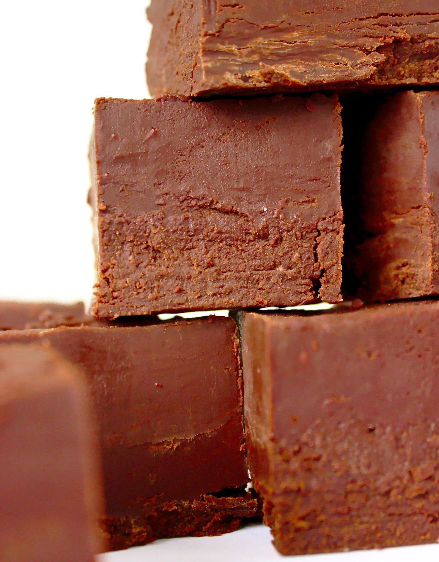 Czekoladowy fudge z 3 składników