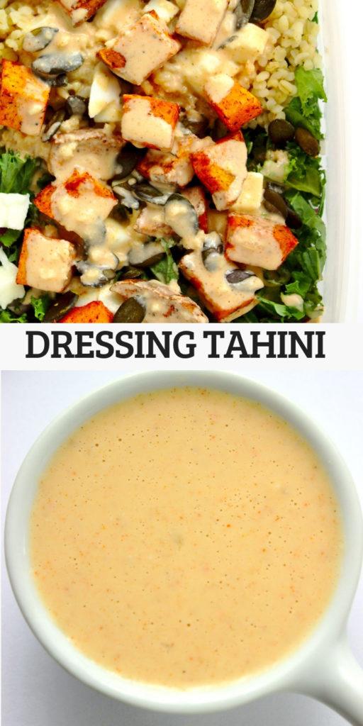 Dressing tahini do sałatki, warzyw oraz dań z grilla
