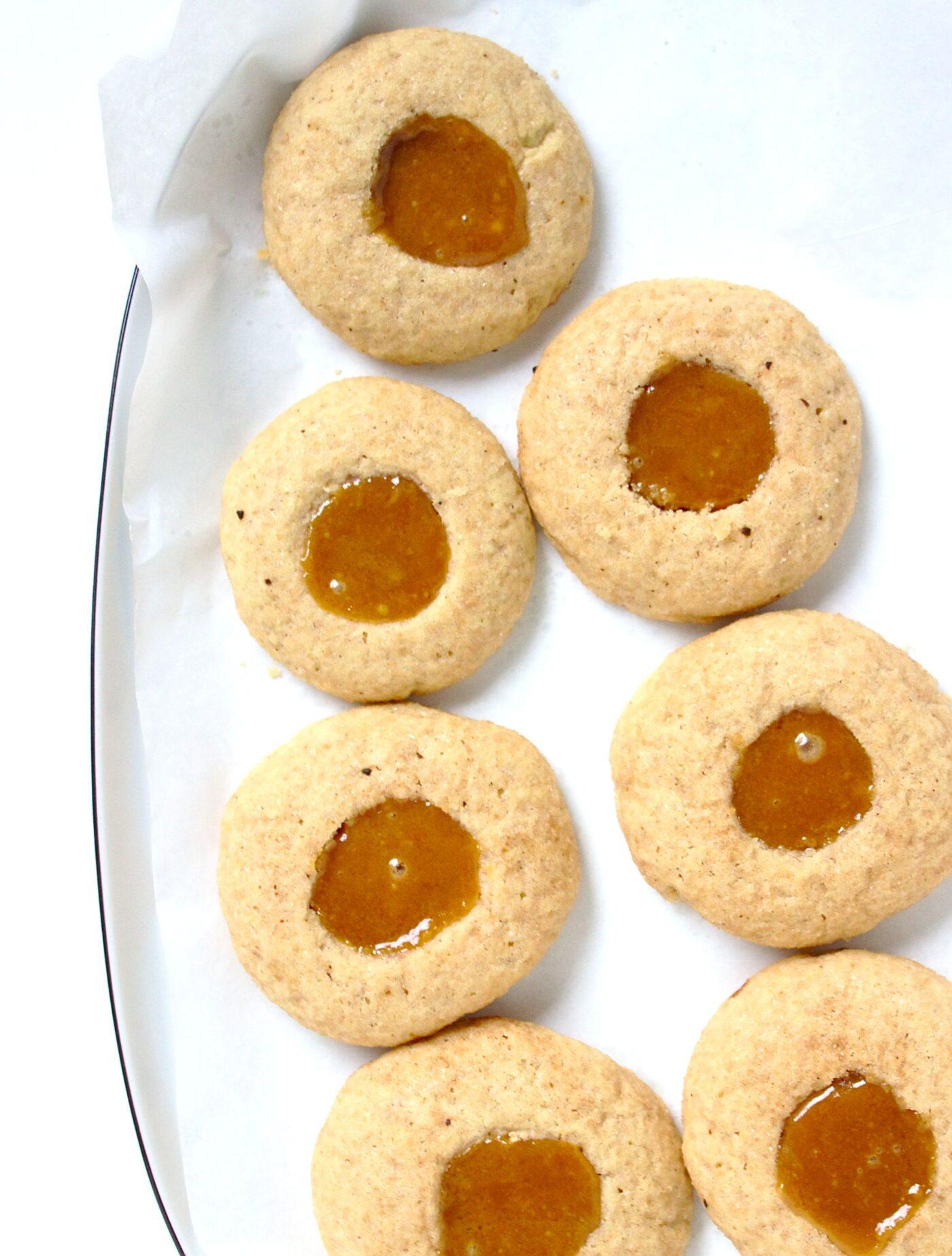 Ciasteczka korzenne z karmelem
