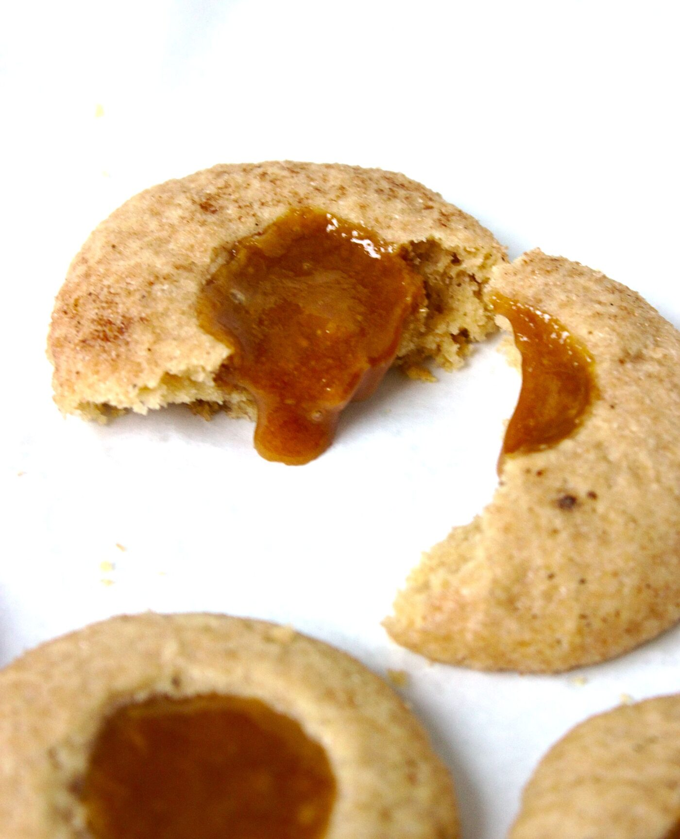 Ciasteczka korzenne z karmelem na święta