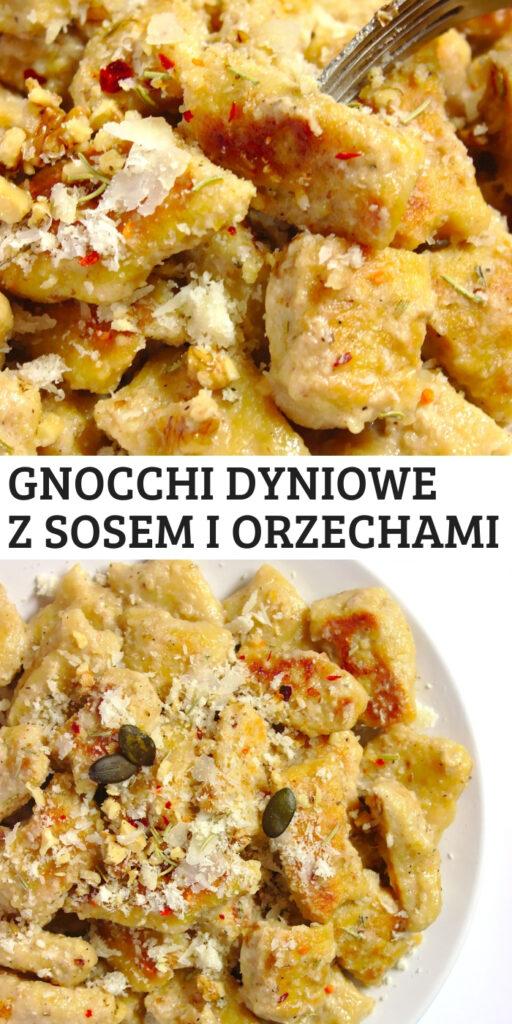 Gnocchi dyniowe z maślanym sosem, orzechami i rozmarynem czyli kopytka