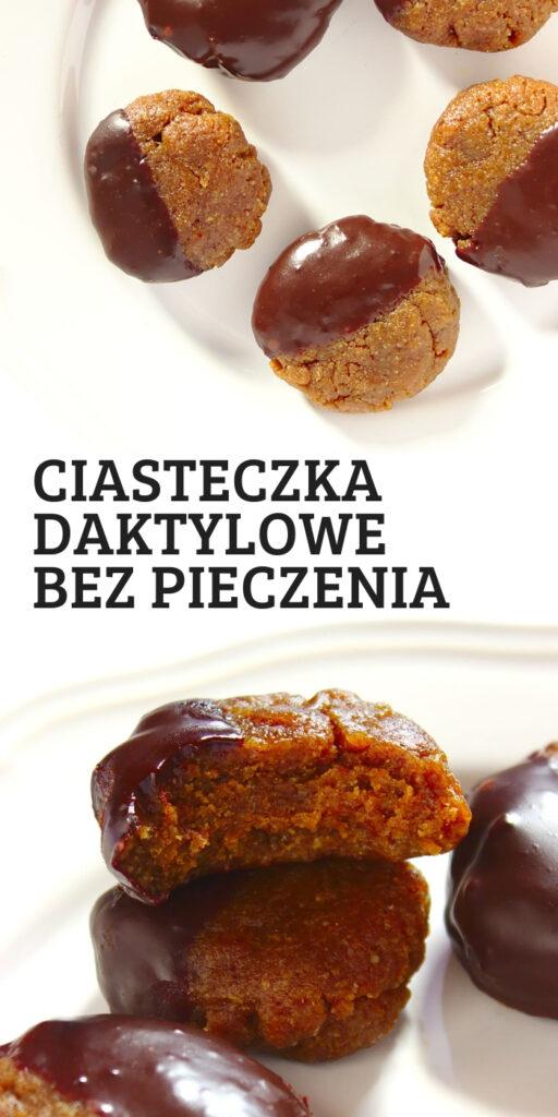 Najłatwiejsze owsiane ciasteczka daktylowe bez pieczenia