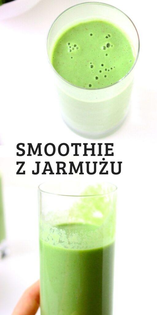 Zdrowe smoothie z jarmużu