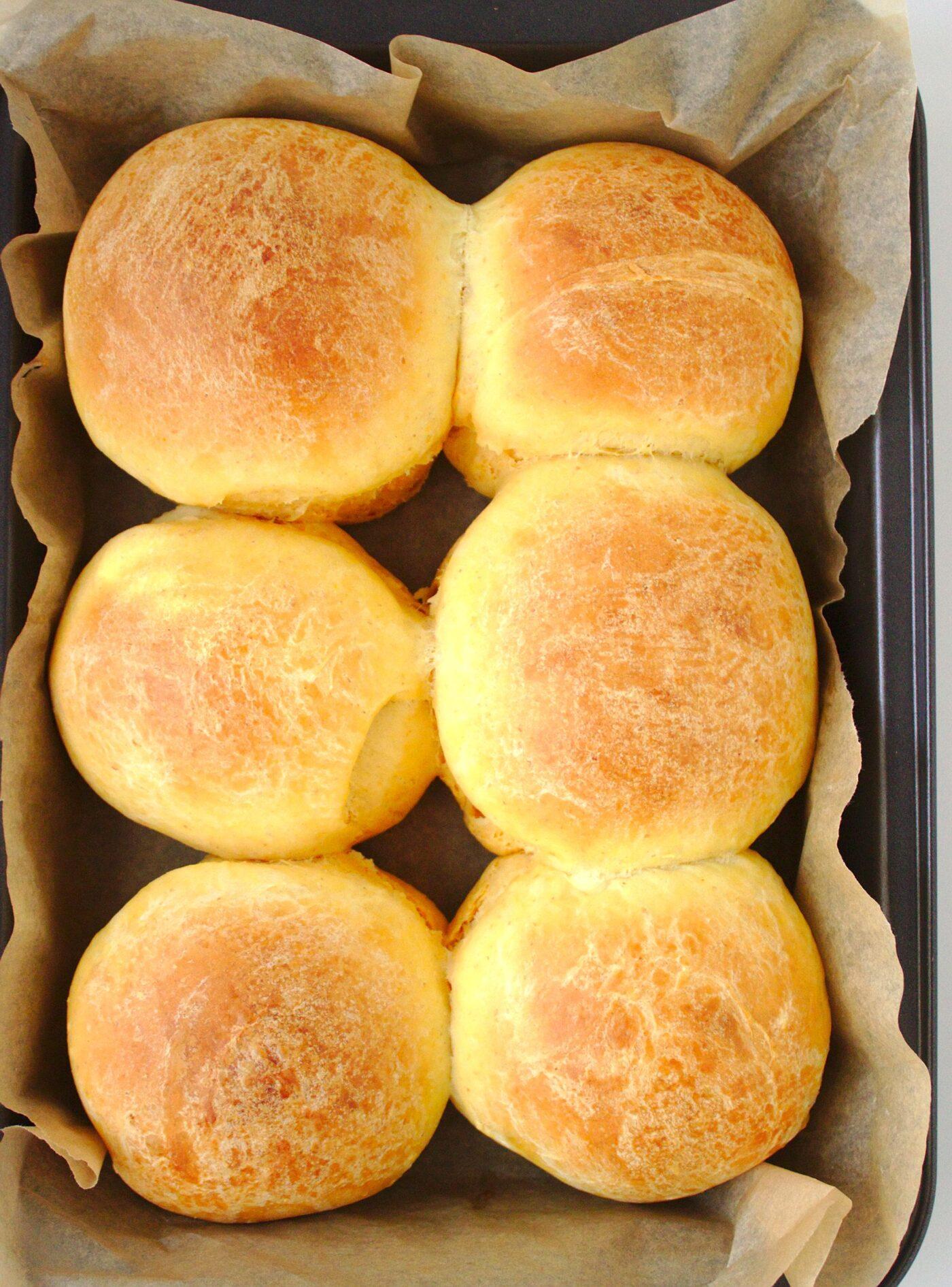 Słodkie bułki pszenne z ziemniakami