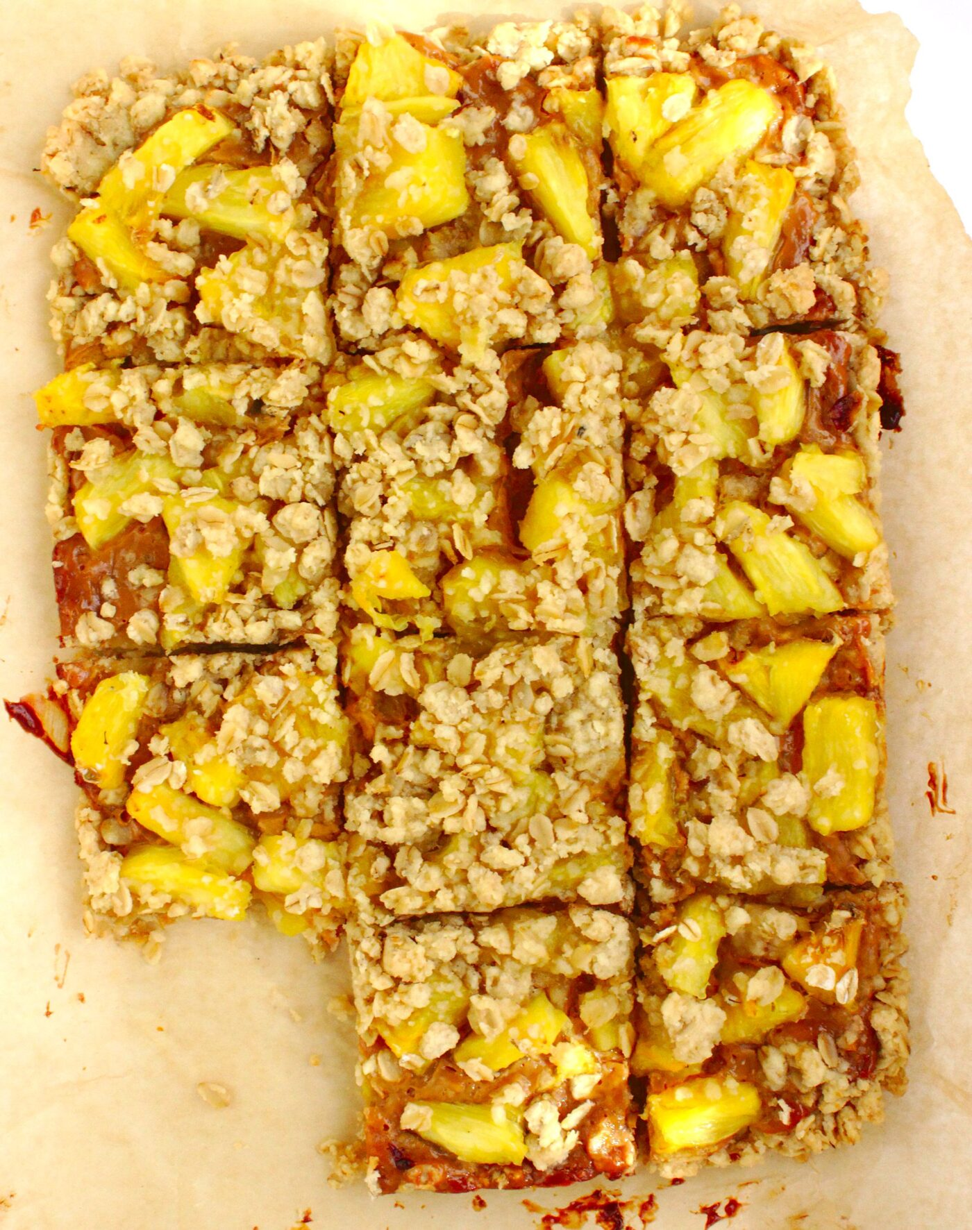 Łatwe ciasto krówka z ananasem