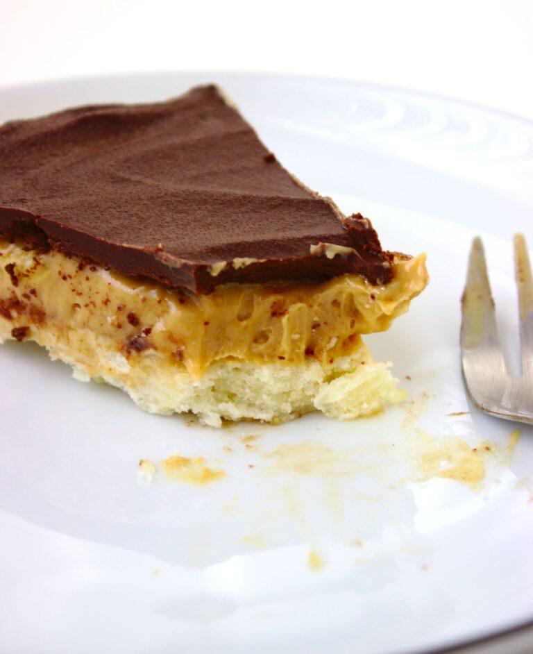 Orzechowe ciasto milionera
